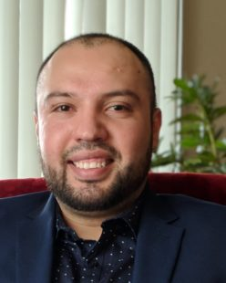 RCS Ph.D. Candidate José Badillo Carlos Serves in New Role as Advising Graduate Assistant