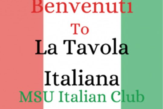 Italian Club is Back for the Fall 2020 Semester