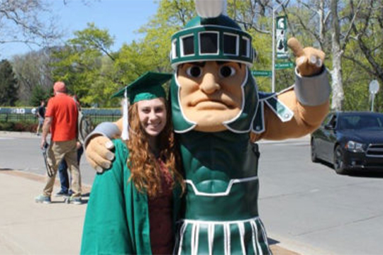 Alumna Uses MSU Education to Excel as an Educator