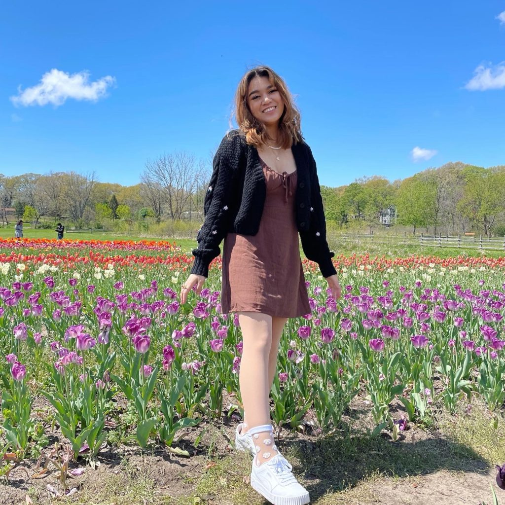 Tricia Carreon, recipient of a scholarship from the Université de Tours in France to study abroad.