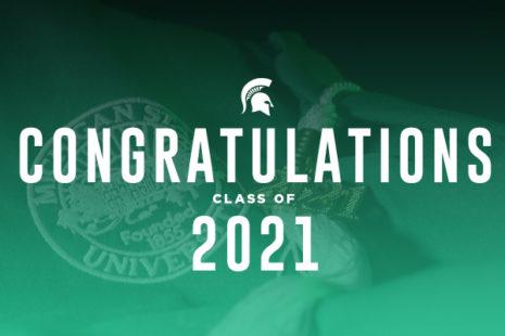Commencement Website Celebrates Class of 2021